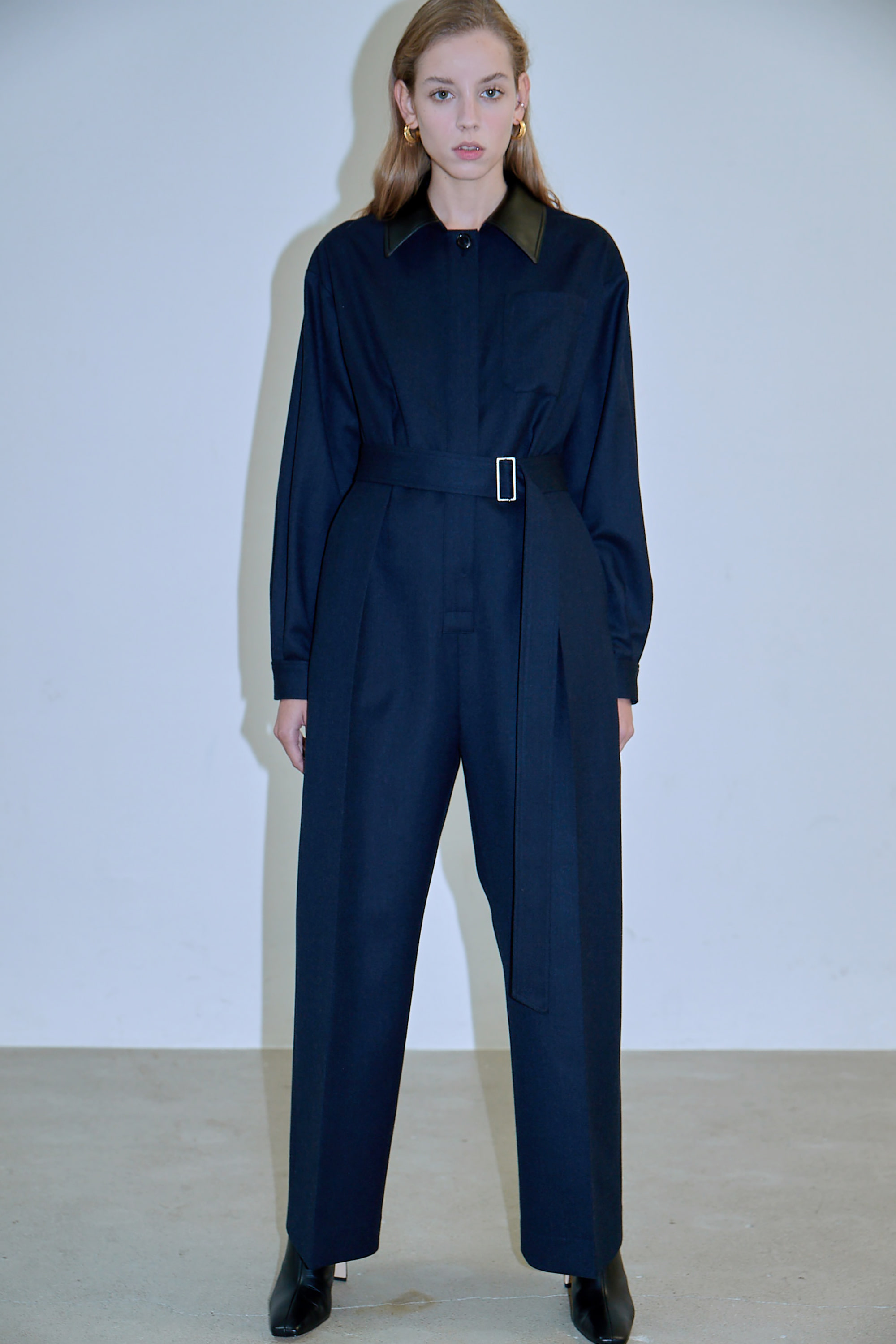 TAILORED WOOL JUMPSUIT